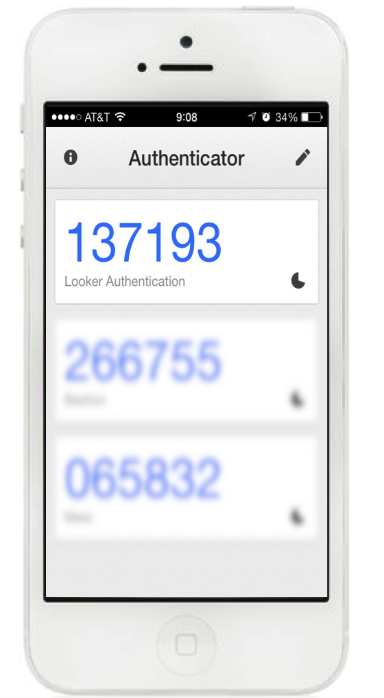 how to get key for google authenticator iphone