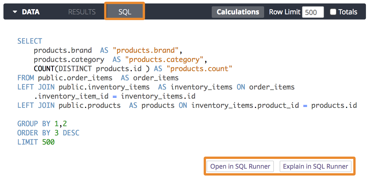 How Looker Generates Sql